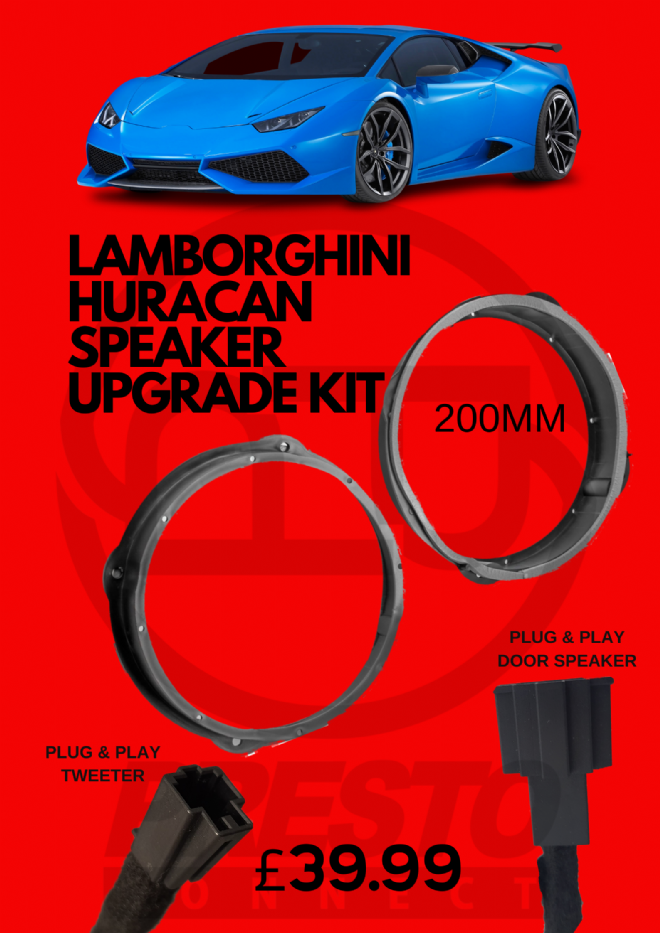 HURACAN SPEAKER UPGRADE PACKAGE